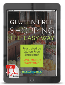 Gluten Free Shopping The Easy Way Cover
