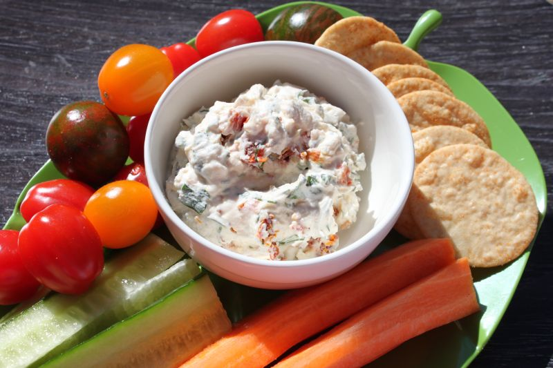 Herbed Goat-Cheese Spread Recipe — Dishmaps