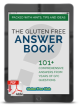 The Gluten Free Answer Book Cover