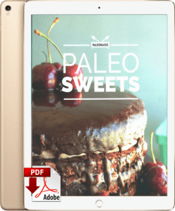 Paleo Dessert cookbook by popular nutritionist Kelsey Ale