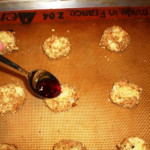 Almond Thumbprint Cookies 2