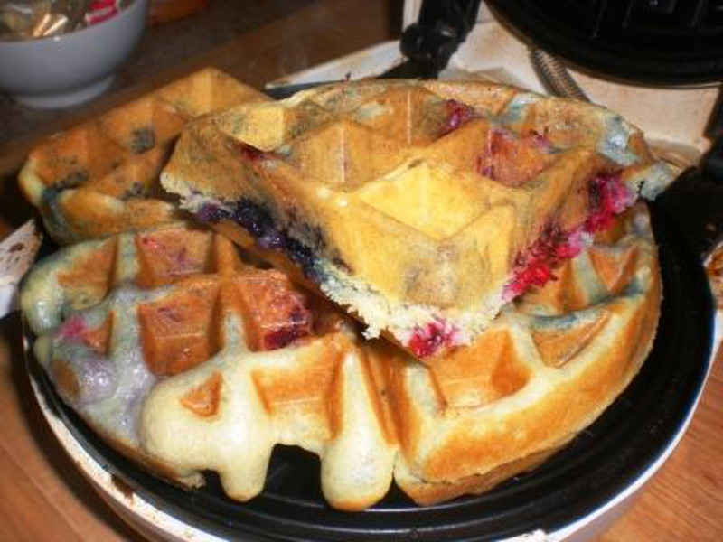 Berry Good Waffles 3