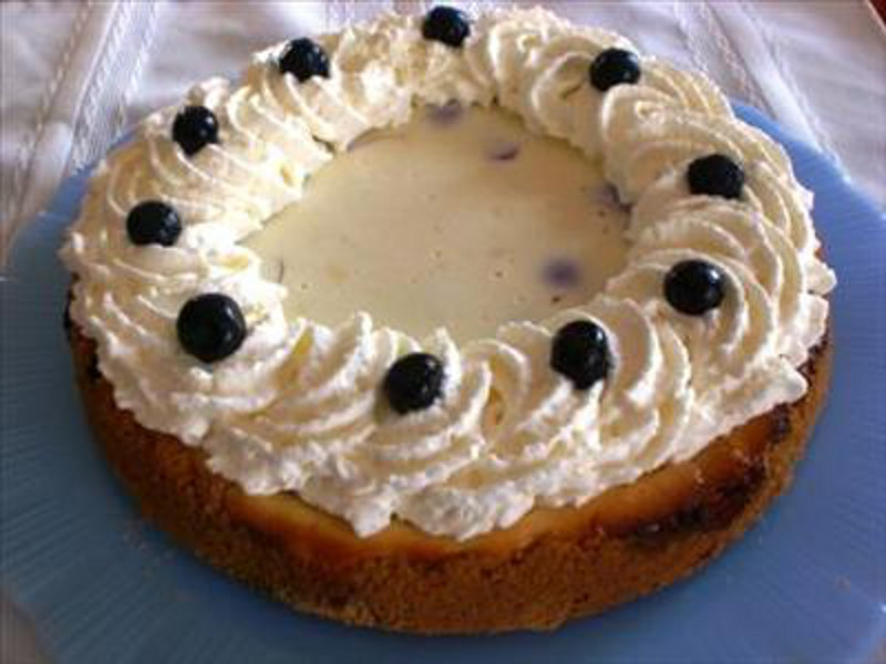 Blueberry Cheesecake 4