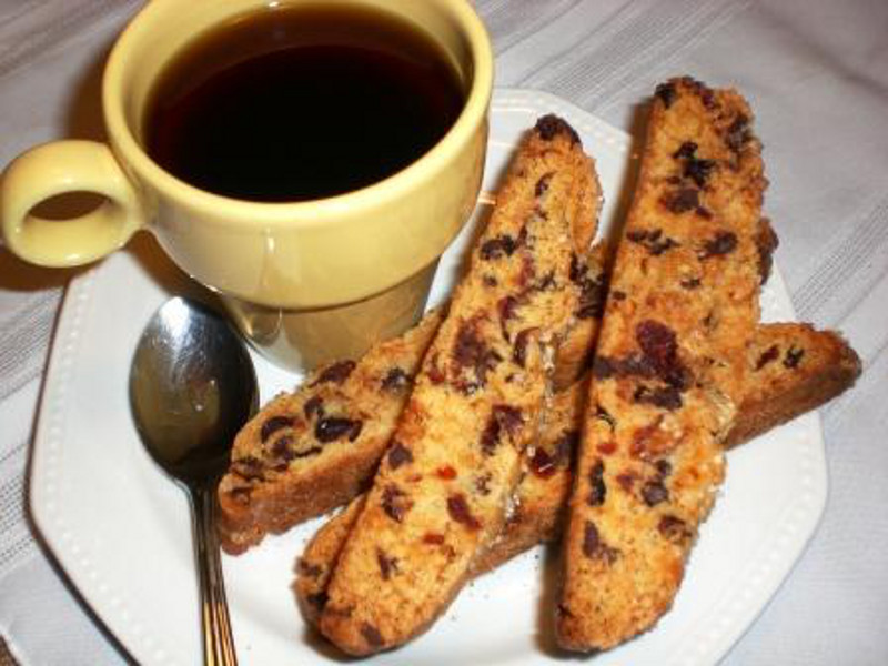 Cranberry Chocolate Biscotti 3
