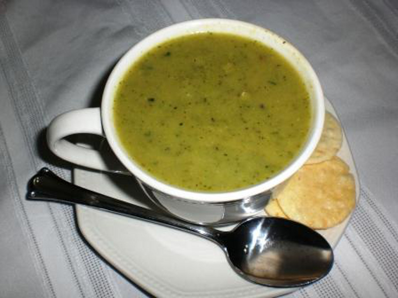 Cream of Broccoli Soup2