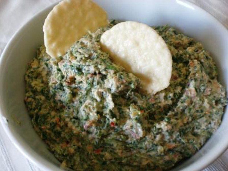 Creamy-Spinach-Dip