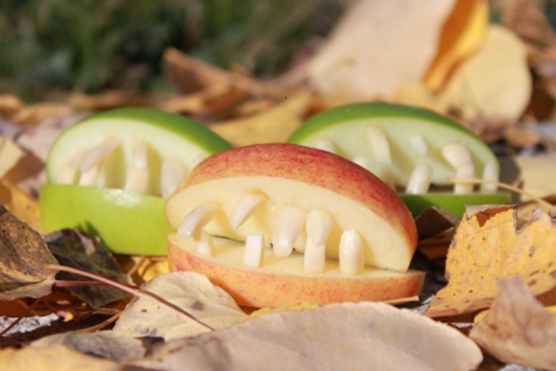 Creepy Apple Bites2