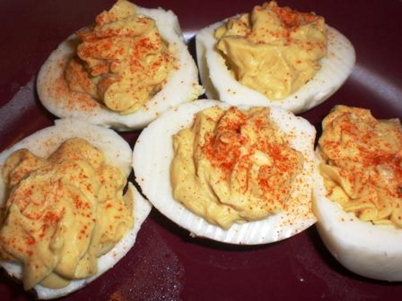 Devilled-Eggs-with-Honey-mustard