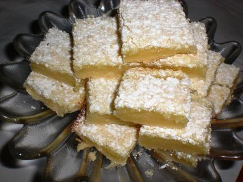 Gingered Lemon Bars 5