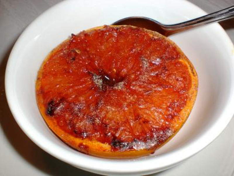 Grilled Grapefruit 2