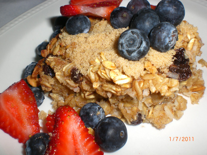 Oatmeal Breakfast Bake With Coconut 2