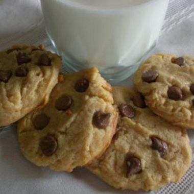 Peanut Butter Cookies with Chocolate Chips2