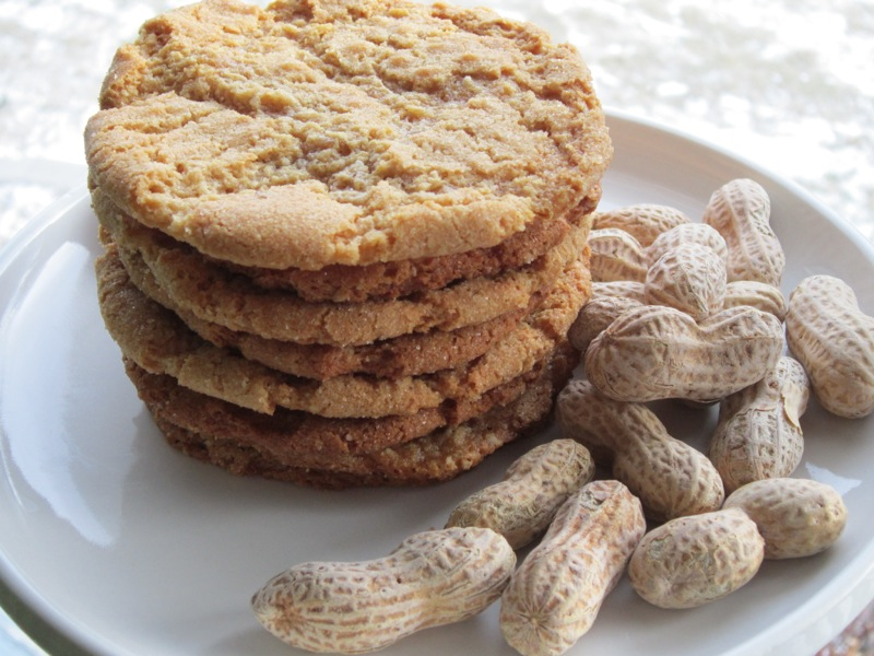 The best peanut butter cookie! They are huge, crispy and chewy!