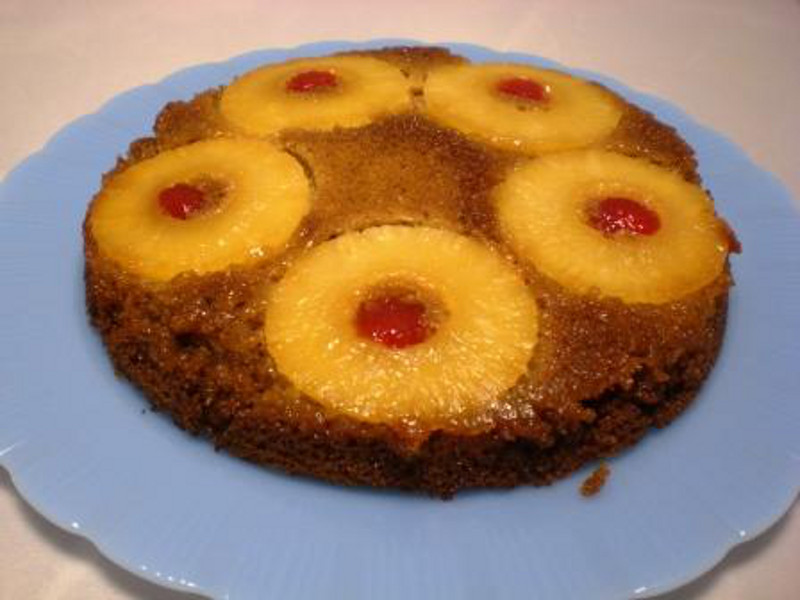 Pinapple Upside Down Cake2