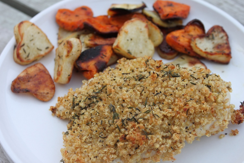 Quinoa Crusted Chicken1