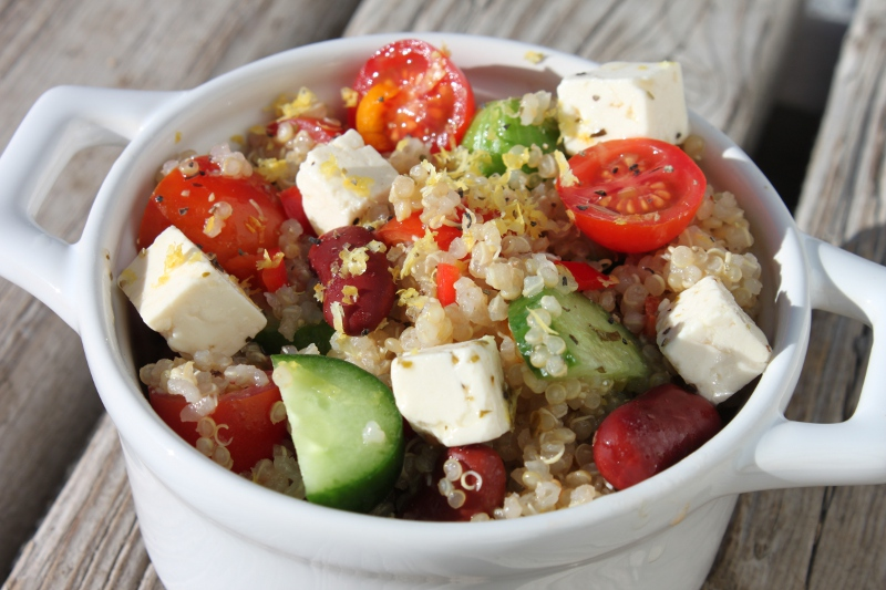 Quinoa Greek Salad1