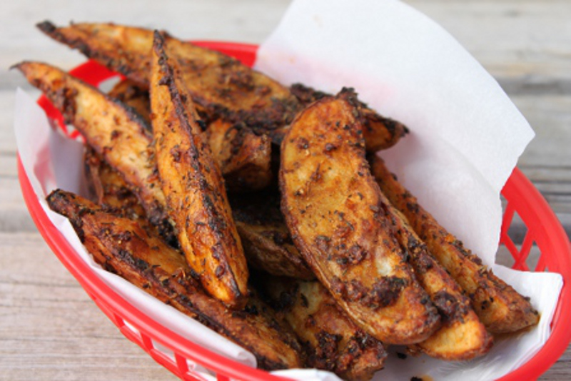 Spiced Wedge Fries1