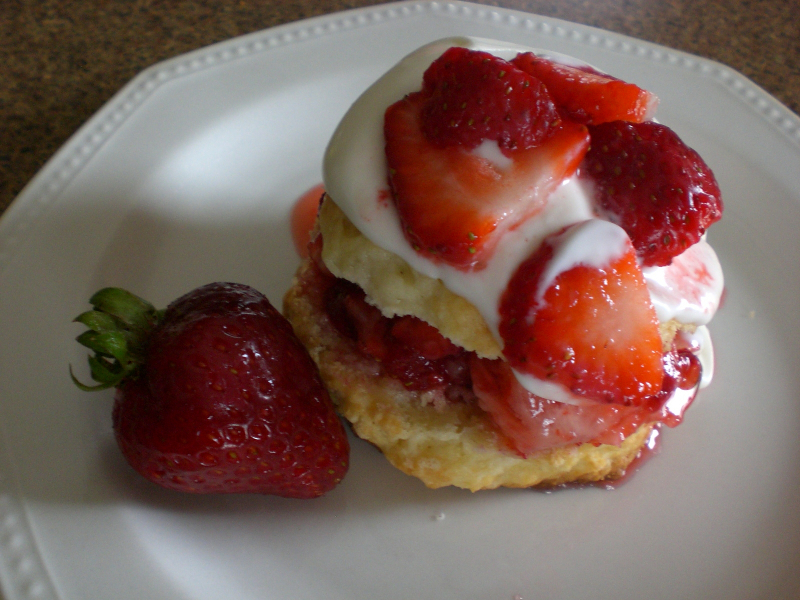 Strawberry Shortcake Scones1