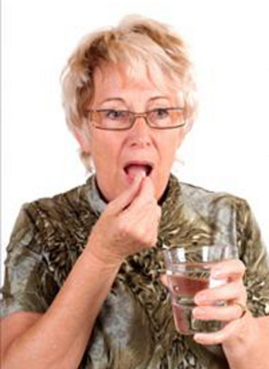 Swallowing Pill