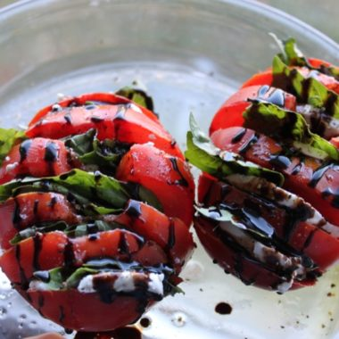 Tomato with Cheese and Basil2